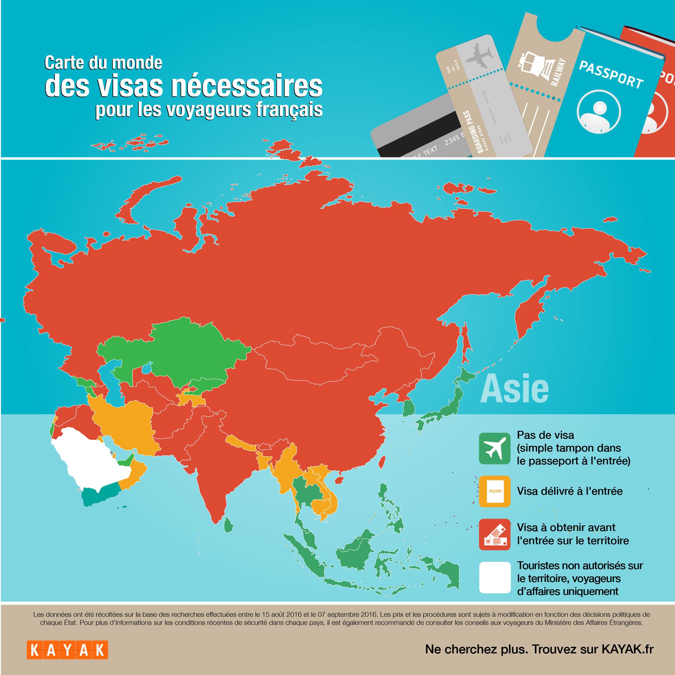 Carte Visa Asie.Passeport S Il Vous Plait Notre Carte Du Monde Des Visas