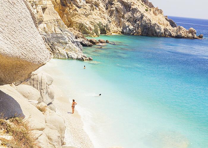 iles grecques plage