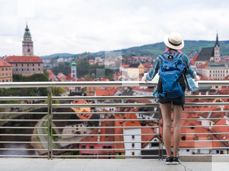 Český Krumlov, une ville tranquille, idéale pour voyager en solo