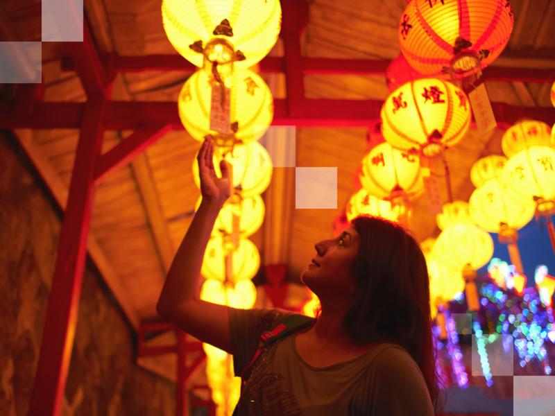 Admirez les fabuleuses couleurs de Penang