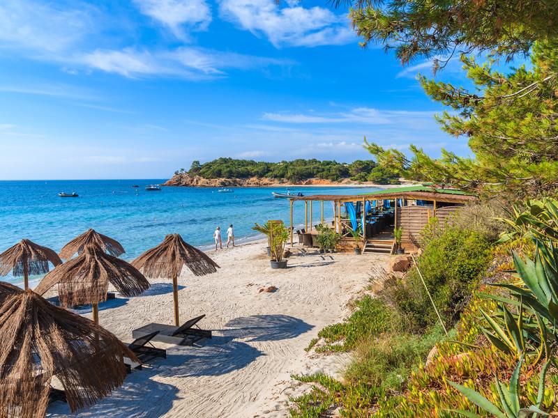 La plage de Palombaggia est l'une des plus belles du sud de la Corse