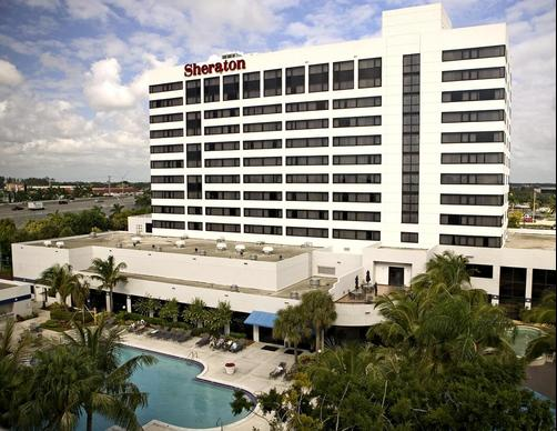 Sheraton Fort Lauderdale Airport & Cruise Port Hotel - Dania - Bâtiment