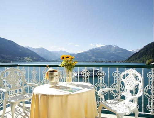 Grand Hotel Zell Am See - Zell am See - Balcon
