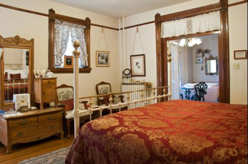 Castle Marne Bed & Breakfast - Denver - Chambre supérieure King-size