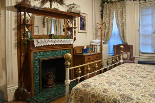 Castle Marne Bed & Breakfast - Denver - Chambre supérieure Queen-size