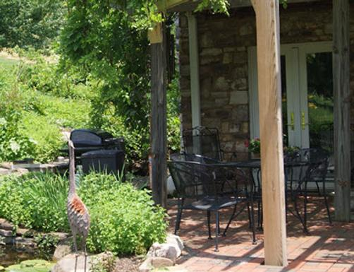 Fincastle Vineyard Bed and Breakfast - Fincastle - Patio