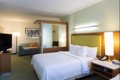 SpringHill Suites by Marriott Columbia Downtown The Vista - Columbia - Chambre supérieure King-size