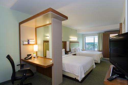 SpringHill Suites by Marriott Columbia Downtown The Vista - Columbia - Chambre supérieure Queen-size