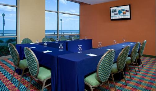 SpringHill Suites by Marriott Virginia Beach Oceanfront - Virginia Beach - Espace de conférence