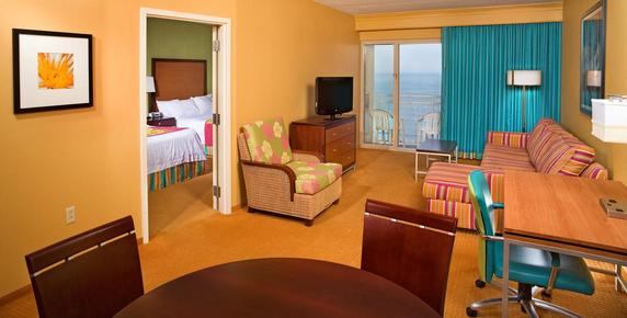 SpringHill Suites by Marriott Virginia Beach Oceanfront - Virginia Beach - Chambre