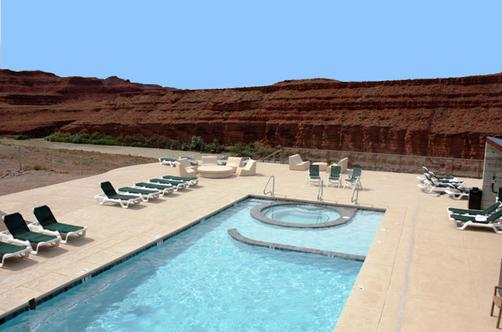 Hat Rock Inn - Mexican Hat - Piscine