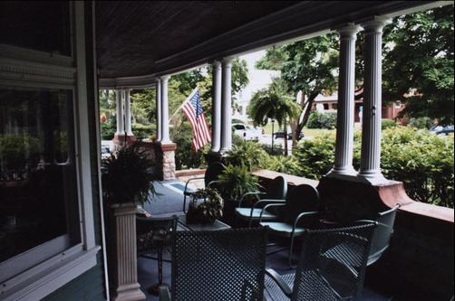 Greenhouse Bed & Breakfast - Chillicothe - Balcon