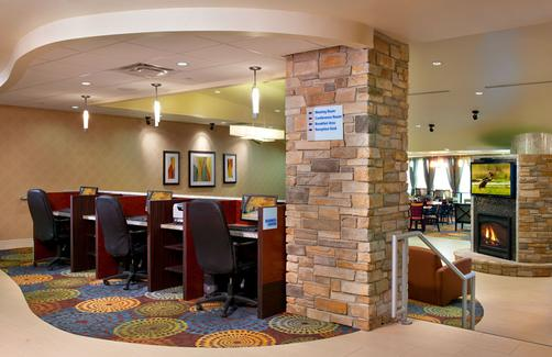 Holiday Inn Express & Suites Pittsburgh West - Greentree - Pittsburgh - Centre d'affaires